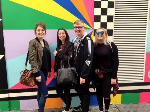 Rainbow Wall Ben Redgell